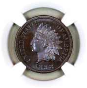 1888 Pf66 Bn Ngc Indian Head Penny Proof Example Superb Eye-appeal