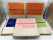 Lot Of 5 Boxes Of Seeburg 1000 Mood Music Record Sets 1964-1970 - Free Shipping