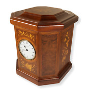 Vintage Reuge Musical Box With Clock Video Inc.