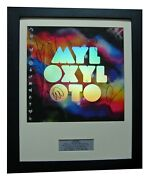 Coldplay+signed+complete Proof+framed+mylo Xyloto=100 Genuine+fast Global Ship