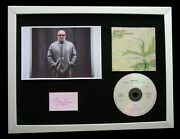 Brian Eno+signed+quality Framed+ambient+airports=100 Genuine+fast Global Ship