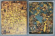 1975 Just For Openers Key Collection Jigsaw Puzzle Springbok 500 Pieces
