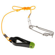 Outrigger Power Grip Snap Weight Release Clip For Offshore Sea Fishing Black