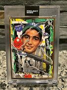 Topps Project 2020 Card 99 Sandy Koufax Gold Frame 1/1 By Tyson Beck