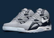 Nike Air Trainer Sc High Shoes Georgetown Wolf Gray White Dm8320-001 Men's New