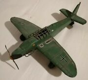 Vintage Wwii The Junkers 87d Stuka Squadron Tin Plane Unbranded