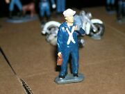 Arttista Metal Pewter Navy Sailor And Sea Bag Figures Eire Authentcast Oands Scale