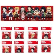 Kimetsu Demon Slayer All Characters Complete Set Sealed, Tins And Milky Candy