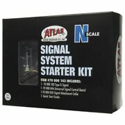 Atlas-signal Starter Set - All Scales Signal System -- 1 Each Single-head Type