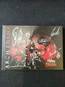 Arch Enemy - Khaos Legions Autographed Signed 2 Cd Digibook By All The Band 2011