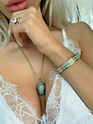 Faberge Egg Jewelry Set One Of A Kind Anniversary Birthday Christmas Gift 24k Hm