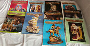 Vintage 1994-95 Chip Chats Collection Wood Carving Magazinelot Of 10