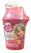 Kitten Catfe Purrista Girls 6 Surprises Inside Pink Container Series 4 Kids Toy