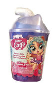 Kitten Catfe Purrista Girls 6 Surprises Inside Container Series 4 Kids Toy