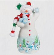 Hallmark 2021 Snowtop Lodge Whittaker Q. Snowden Ornamentsold Out In Hand