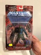 New - Masters Of The Universe He Man Motu 200x - Trap Jaw - Sealed On Card