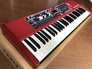 Clavia Nord Electro 6d 61 Synthesizer Keyboard 61-key Vintage Working Red