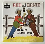 Red Foley And Ernest Tubb Red And Ernie Hat 3000 Vinyl Lp Record