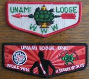 Order Of The Arrow Unami Lodge 1 Flaps