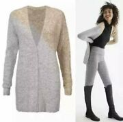 Cabi New Nwt Tilt Cardigan 3886 Gray Gold Copper Was 134