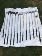 Vtg Rh Walter Hagen Lady Ultra 3-9 Irons134 And 5 Woods Pit. Wedge Sweet Spot