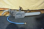 Stanley Brand Hydraulic Concrete Chainsaw Model Cs11 With 15 Bar And Chain