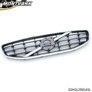 Fit For 2011-2013 Volvo S60 Chrome Front Bumper Upper Grille Grill Assembly