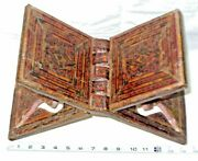 Book Stand Korean Folding Book Holder Mosaic Islamic Middle East 18th Century