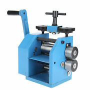 Manual Rolling Mill Machine Rollers Jewelry Craft Hand Press Processing Tool Kit