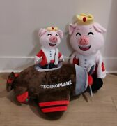 Youtooz Technoblade Plush 2ft With Plane And 1ft Plush. Ships Fast✈🐷