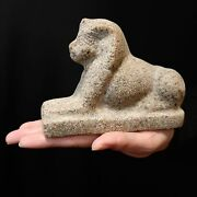 Pharaonic Egyptian Antique Antiques Egypt Antiquities Great Sphinx Statue -f226