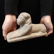 Pharaonic Egyptian Antique Antiques Egypt Antiquities Great Sphinx Statue -f256