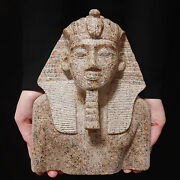 Bc Pharaonic Egyptian Antique Antiques Egypt Antiquities Figurine Statue -f366