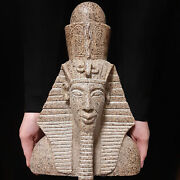 Bc Pharaonic Egyptian Antique Antiques Egypt Antiquities Figurine Statue -f364