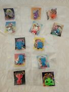 Topps Garbage Pail Kids Minikins Series 1 And 2 - 18 Figures W/ Stickers