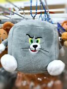 Tom And Jerry Mascot Chain Stuffed Toy Plush Key Ring Tom Funny Art Gift Japan