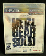 Metal Gear Solid The Legacy Collection 1987-2012 Ps3 2013