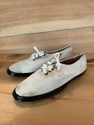 Vintage 40s/50s Wwii Swedish Military Sneaker Canvas Navy Shoes 46 Us 11 Nordpol