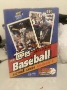 1993 Topps Series 1 Factory Sealed With Topps Wrap On Wax Box Derek Jeter Rookie