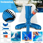 Swimming Pool And Spa Pond Fountain Vacuum Brush Cleaner Cleaning Tool Kit New Us