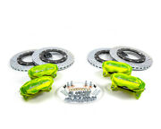 Agency Power Big Brake Kit For Front And Rear Green Can-am Maverick X3 Turbo