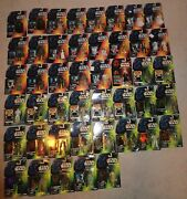 Star Wars 45 Figure Lot Kenner Moc 90's Red Card Green Cards Early Long Sabers