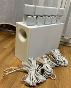 Bose Acoustimass 10 Home Theater Speaker System 5.1 Ch With Cables Complete