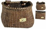 Co. Lightship Collection Childrenand039s Bicycle Basket Stained Classic/tapered