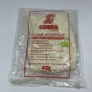Vintage Cobra Pgi Flame Resistant Fire Fighting Hood 30012 Osha And Nfpa Approved