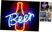 Beer Glass Neon Signs Beer Bar Club Bedroom Glass Neon Lights Sign For Office
