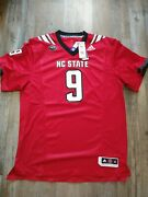 Xl Bradley Chubb Nc State Wolfpack Adidas Premier Football Jersey Home 9 Ft1553