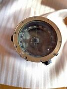 Empire Of Japan Aircraft Compass Type 2 Army Round Military Antique Vintage Old