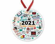 2021 Global Pandemic Ornament, 2021 Christmas Decoration , Gift For Fan