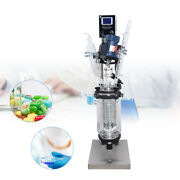 Sf-3l Jacketed Glass Reactor Reaction Vessel 3l Digital 680rpm For Chemical Lab
